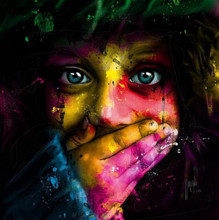 Молчание.  Автор: Patrice Murciano.