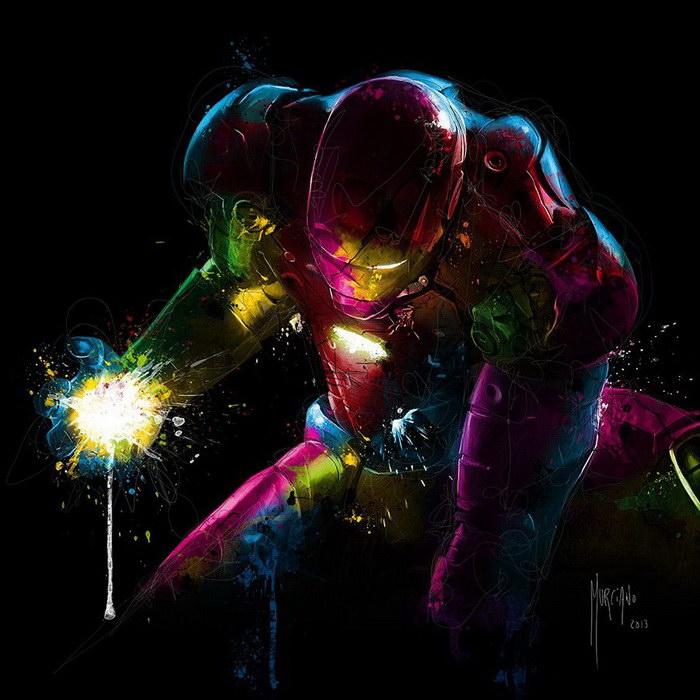 Железный человек.  Автор: Patrice Murciano.