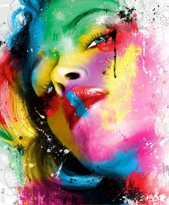 Красочный образ.  Автор: Patrice Murciano.