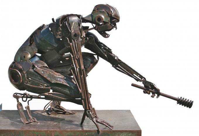 Прометей (Prometeo). Металлические скульптуры от Патрика Ало (Patrick Alo).