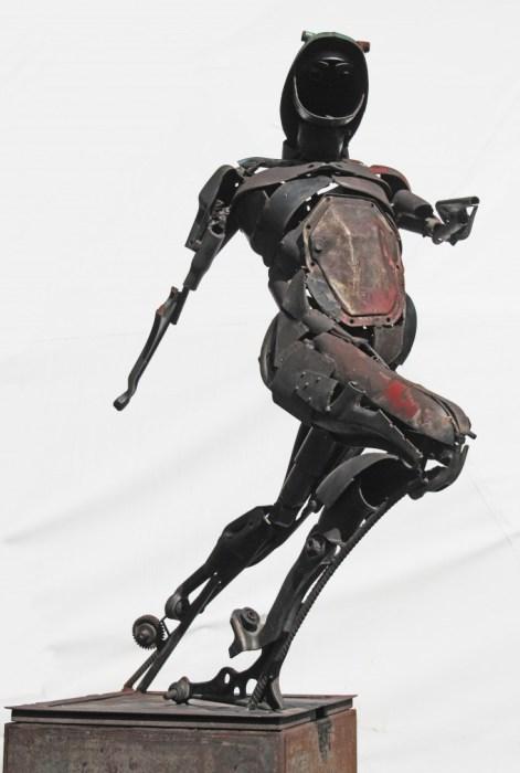 Протей (Proteo). Металлические скульптуры от Патрика Ало (Patrick Alo).