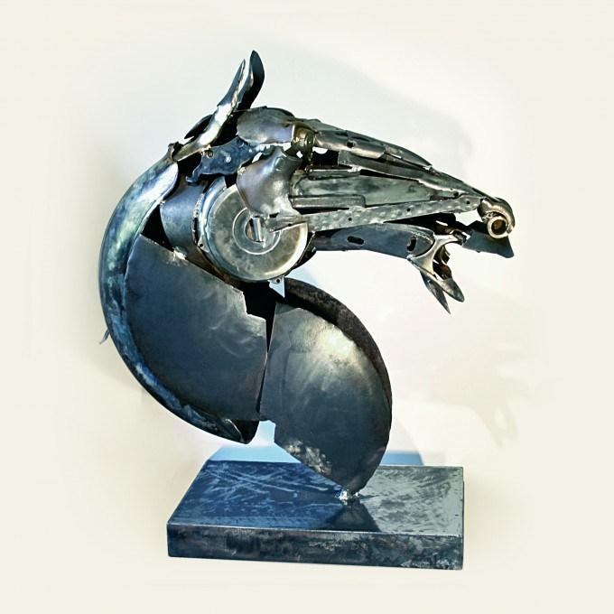 Кавалло (Cavallo). Металлические скульптуры от Патрика Ало (Patrick Alo).