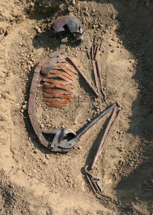 Человек творящий (Homo faber). Металлические скульптуры от Патрика Ало (Patrick Alo).
