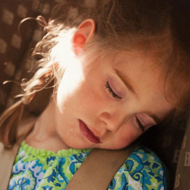 Маленькая нежность. Портрет девочки. Автор работы: Patrick Kramer.