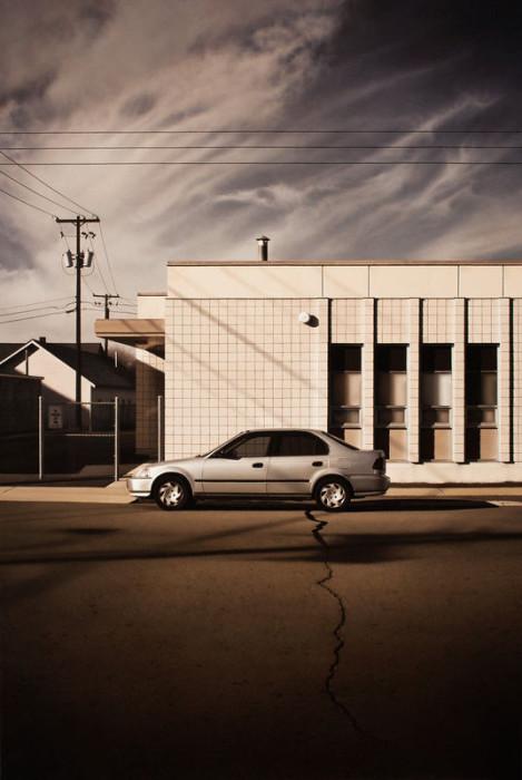 Автомобиль на дороге. Автор работы: Patrick Kramer.