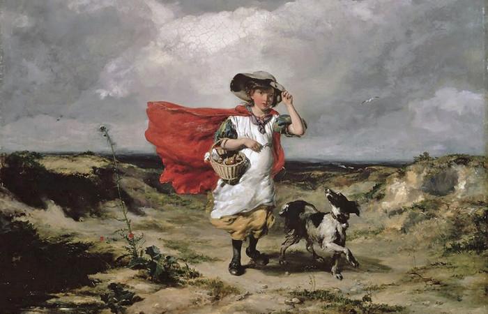 Король Лир, пастухи, крестьяне и трубадуры на эмоциональных картинах живописца XIX века