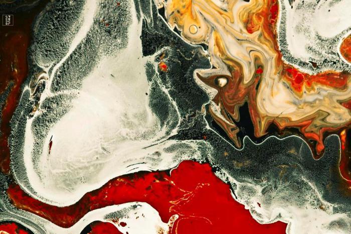 Потрясающие абстрактные работы Поля Джуно (Paul Juno).