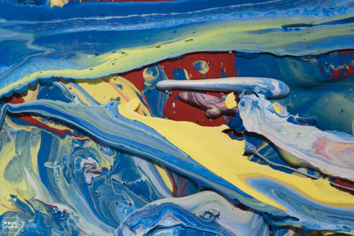 Впечатляющие абстрактные работы Поля Джуно (Paul Juno).