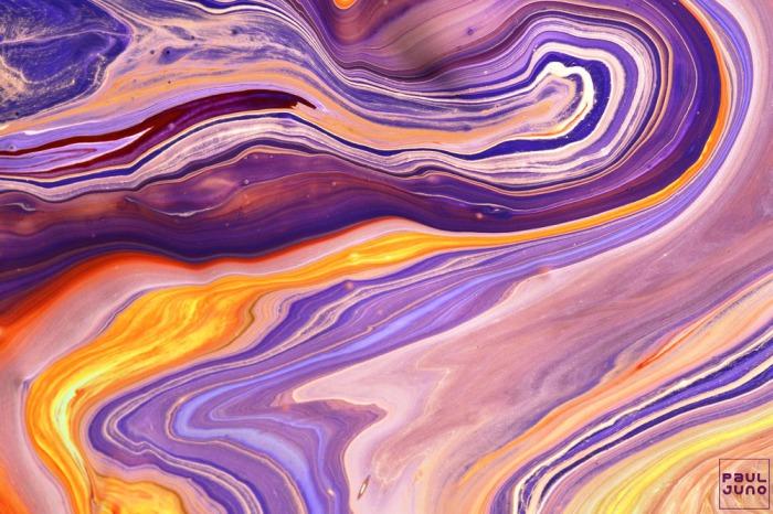 Абстрактные работы Поля Джуно (Paul Juno). Буйство красок.