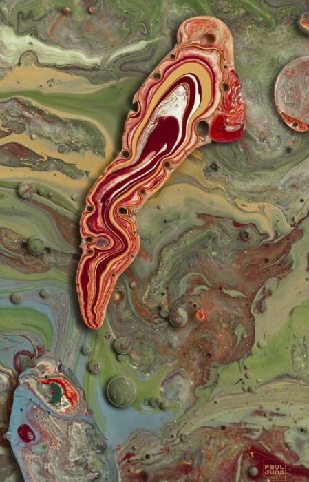Своеобразные абстрактные работы Поля Джуно (Paul Juno).
