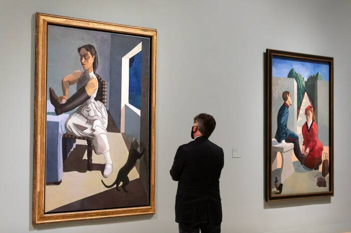 Амбициозная и масштабная новая выставка Tate Britain с работами Паулы Рего. Фотограф: Tim P. Whitby. \ Фото: news.fr-24.com.
