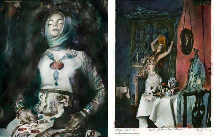 Волшебные фотоработы в винтажном стиле от Паулины Отилье Сурис (Paulina Otylie Surys).