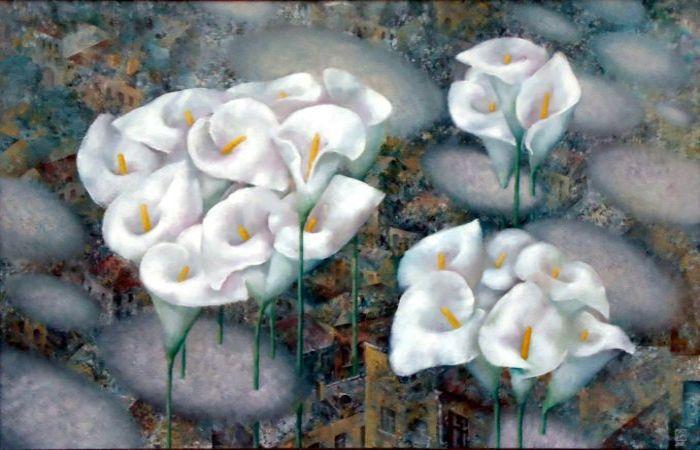 Городские цветы. Автор: Павел Антипов.