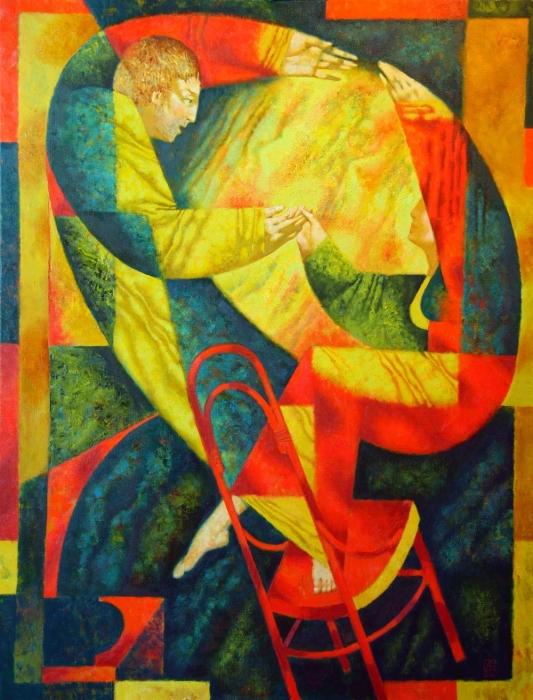 Танец на венском стуле. Автор: Павел Антипов.