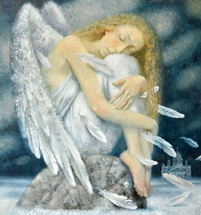 Ангелы Петербурга. Автор: Павел Антипов.