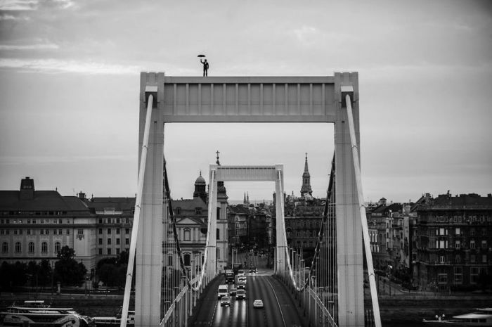 Мост Эржбет, Будапешт. Автор фото: Питер Калло (Peter Callo).