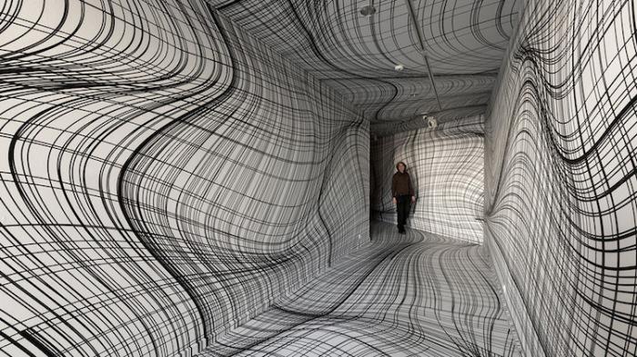 Необычные инсталляции Питера Коглера.