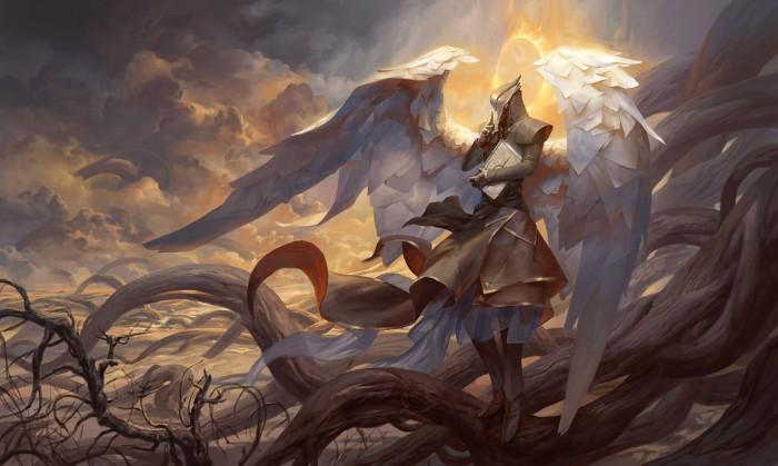 Разиэль - ангел тайны. Автор иллюстрации: Питер Морбахер (Peter Mohrbacher).
