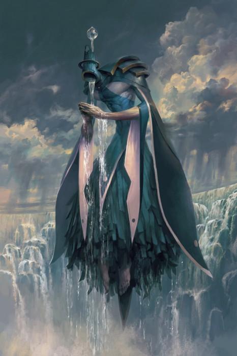 Матариэль - ангел дождя. Автор иллюстрации: Питер Морбахер (Peter Mohrbacher).