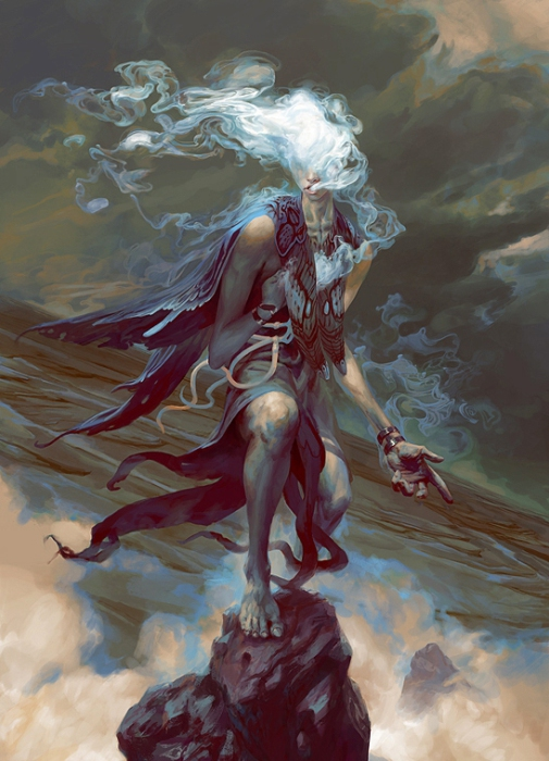 Сатариэль - ангел обмана. Автор иллюстрации: Питер Морбахер (Peter Mohrbacher).