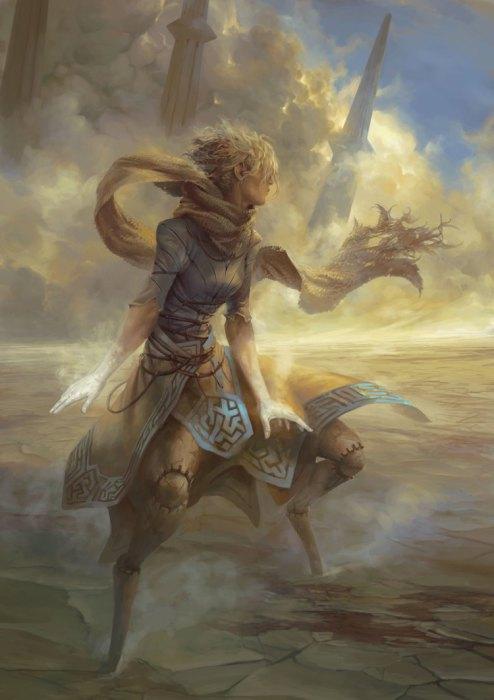 Суфлатус - ангел пыли. Автор иллюстрации: Питер Морбахер (Peter Mohrbacher).