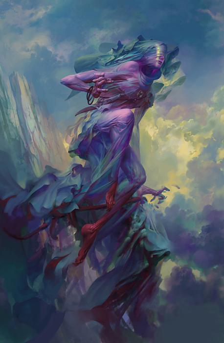 Тамиэль - ангел невидимка. Автор иллюстрации: Питер Морбахер (Peter Mohrbacher).