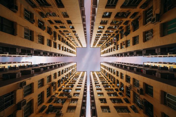 В квадрате. Яркие абстрактно-архитектурные фотографии Питера Стюарта (Peter Stewart).