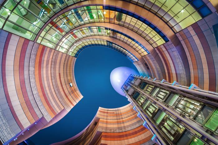Намба Парк. Яркие абстрактно-архитектурные фотографии Питера Стюарта (Peter Stewart).