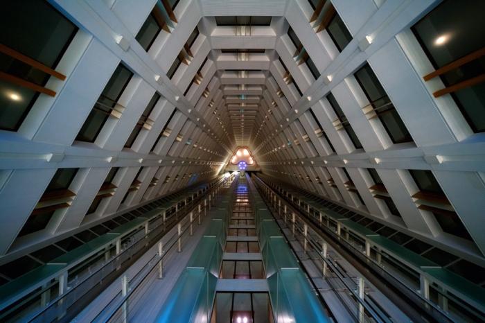 Портал. Яркие абстрактно-архитектурные фотографии Питера Стюарта (Peter Stewart).