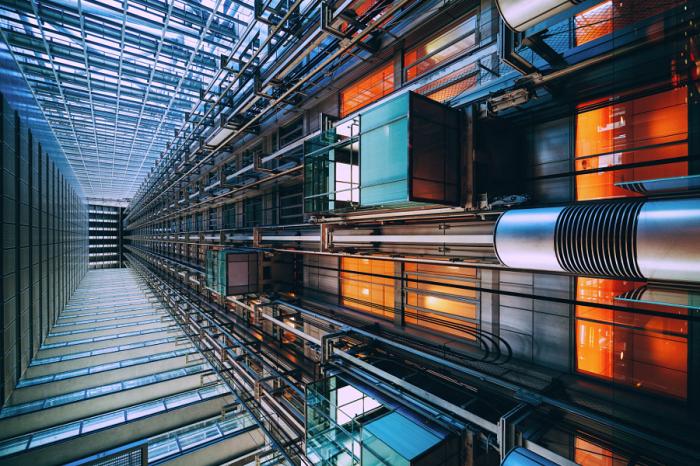 Подняться. Яркие абстрактно-архитектурные фотографии Питера Стюарта (Peter Stewart).