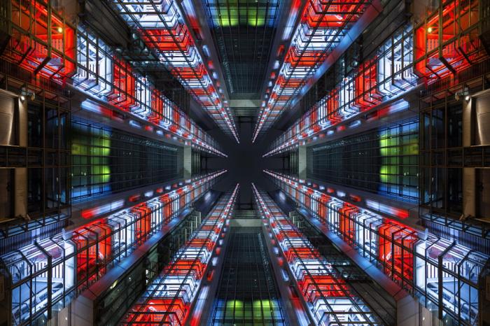 Иду к цели. Яркие абстрактно-архитектурные фотографии Питера Стюарта (Peter Stewart).