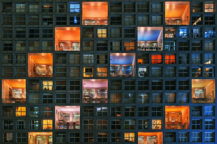 Большие квадраты, маленькие квадратики. Яркие абстрактно-архитектурные фотографии Питера Стюарта (Peter Stewart).