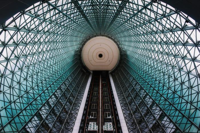 Аврора. Яркие абстрактно-архитектурные фотографии Питера Стюарта (Peter Stewart).