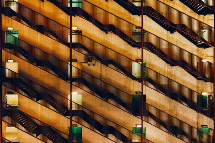 Повышающийся уровень. Яркие абстрактно-архитектурные фотографии Питера Стюарта (Peter Stewart).