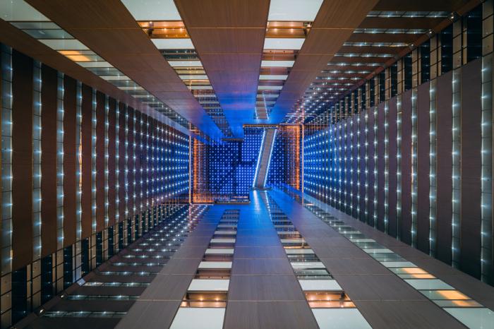 Звёздная материя. Яркие абстрактно-архитектурные фотографии Питера Стюарта (Peter Stewart).