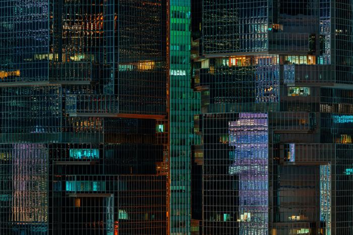 Стеклянный дом. Яркие абстрактно-архитектурные фотографии Питера Стюарта (Peter Stewart).