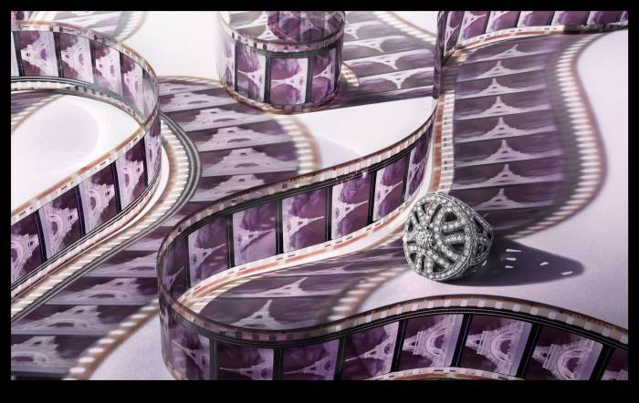 Роскошное кольцо из коллекции украшений Картье (Cartier's Art Deco Jewelry). Современный фотограф: Питер Липпманн (Peter Lippmann).