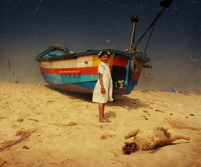 Лето в Индии. Снимок из серии «Путешествия». Автор работ: Пётр Ловыгин (Petr Lovigin).