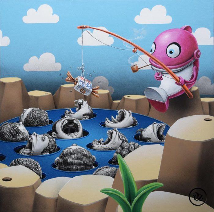 На рыбалке. Автор: Pez.
