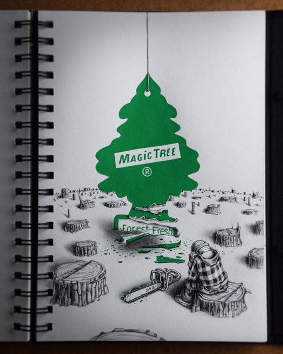 Волшебное дерево. Автор: Pez.