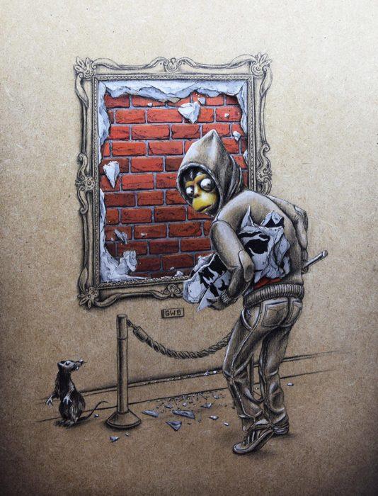 Ограбление средь бела дня. Автор: Pez.
