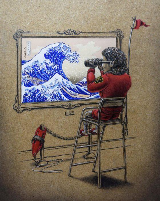 Море волнуется раз... Автор: Pez.