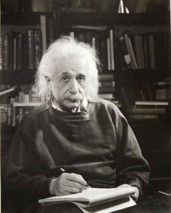 Великий ученый. Автор фото: Филипп Халсман (Philippe Halsman).