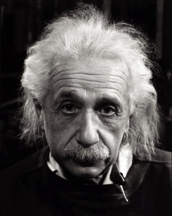 Альберт Эйнштейн. Автор фото: Филипп Халсман (Philippe Halsman).