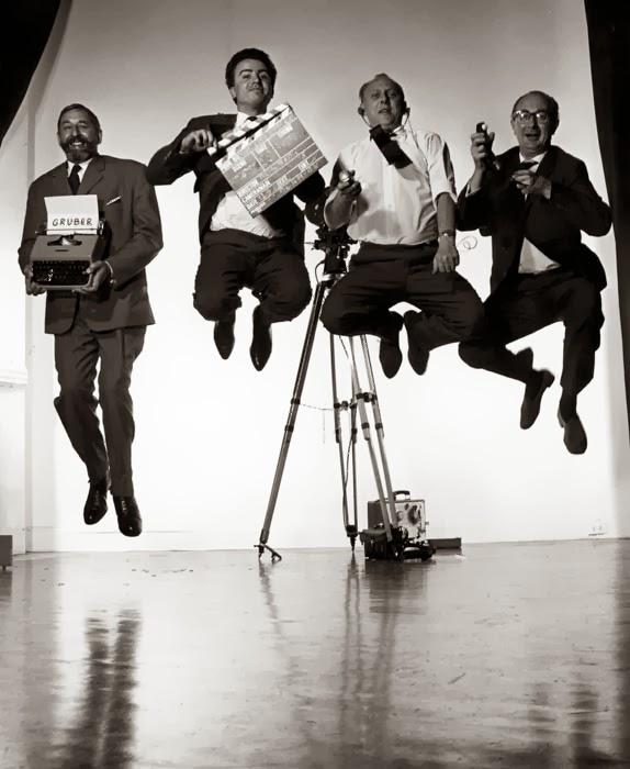 В прыжке. Автор фото: Филипп Халсман (Philippe Halsman).