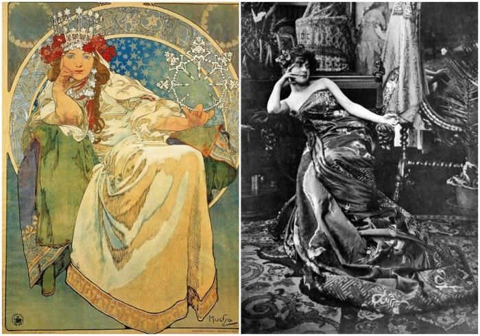 Принцесса Гиацинт, Альфонс Муха. \ Фото: google.com.