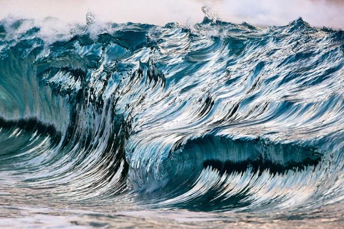 Застывшие волны. Pierre Carreau.
