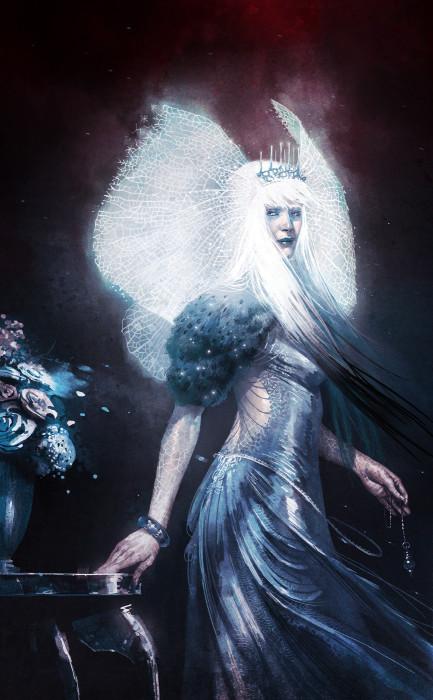 Снежная Королева. Автор: Pierre Droal.
