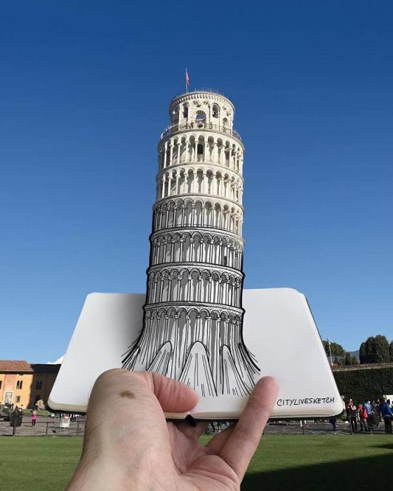 Пизанская башня. Автор: Pietro Cataudella.