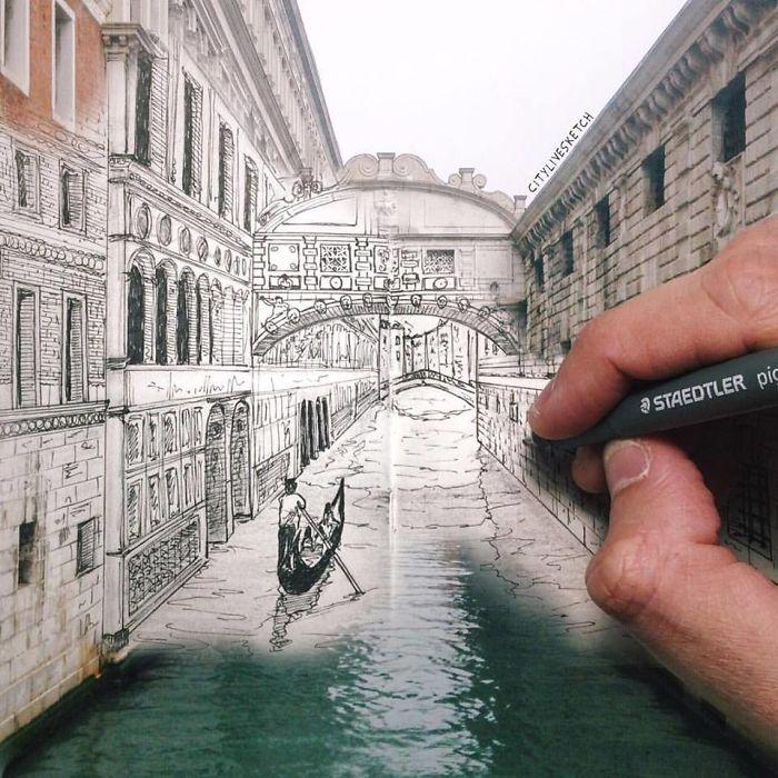 Мост вздохов, Венеция. Автор: Pietro Cataudella.